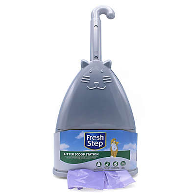 Fresh Step™ Deluxe Litter Scoop Station