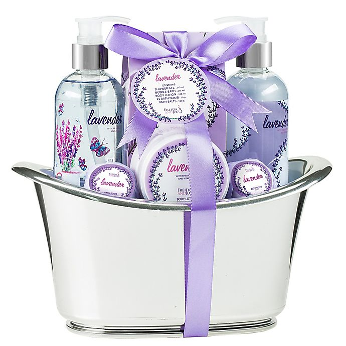 Alternate image 1 for Freida & Joe Bath Lavender Spa Set