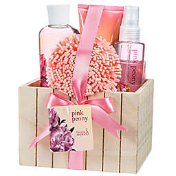 Freida & Joe Pink Peony Fragrance Spa Set