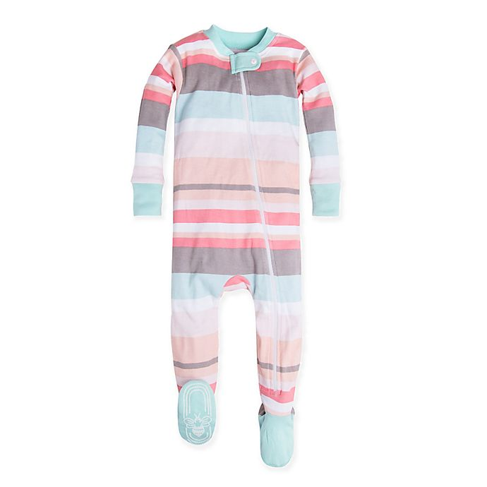 6b87679944f4 Burt s Bees Baby® Desert Stripe Organic Cotton Footie