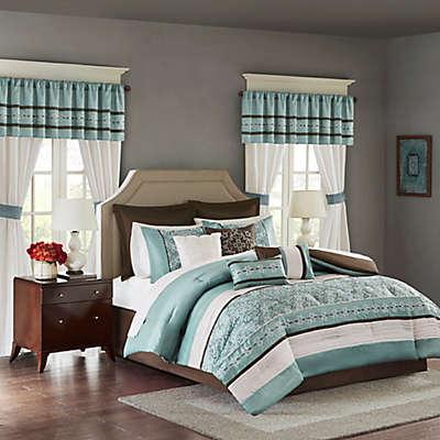 Madison Park Essentials Jelena 24-Piece Complete Comforter Set