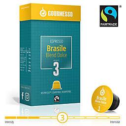 Gourmesso Brasile Blend Dolce Nespresso® Compatible Espresso Capsules 10-Count