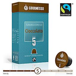 Gourmesso 10-Count Soffio Cioccolato Espresso Capsules