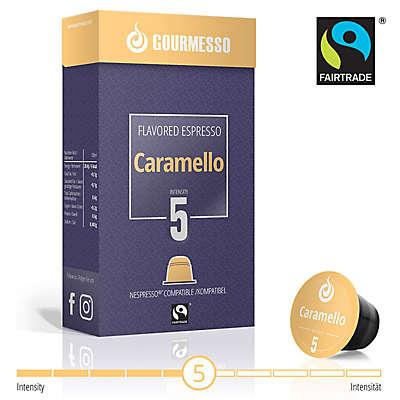Gourmesso 10-Count Soffio Caramello Espresso Capsules