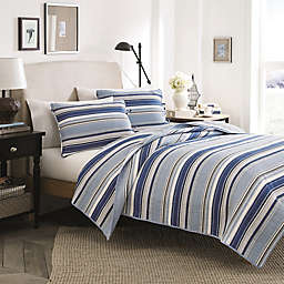 Stone Cottage Fresno 2-Piece Twin Quilt Set in Blue