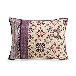 Jessica Simpson Lola Standard Pillow Sham in Purple
