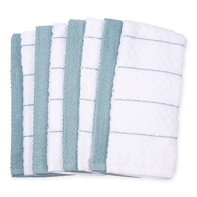 Alternate image 1 for Diamond 8-Pack Kitchen Towels