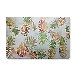 Golden Pineapples Laminated Placemat