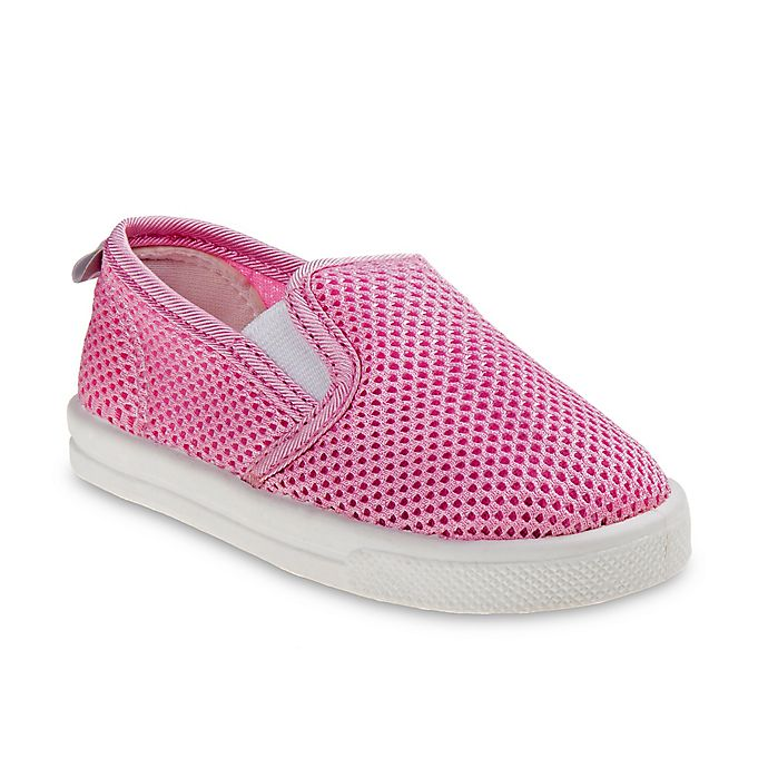 Alternate image 1 for Josmo Shoes Mesh Slip-On Sneaker in Pink