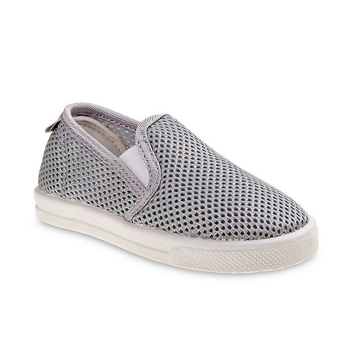 Alternate image 1 for Josmo Shoes Size 5 Mesh Slip-On Sneaker in Grey