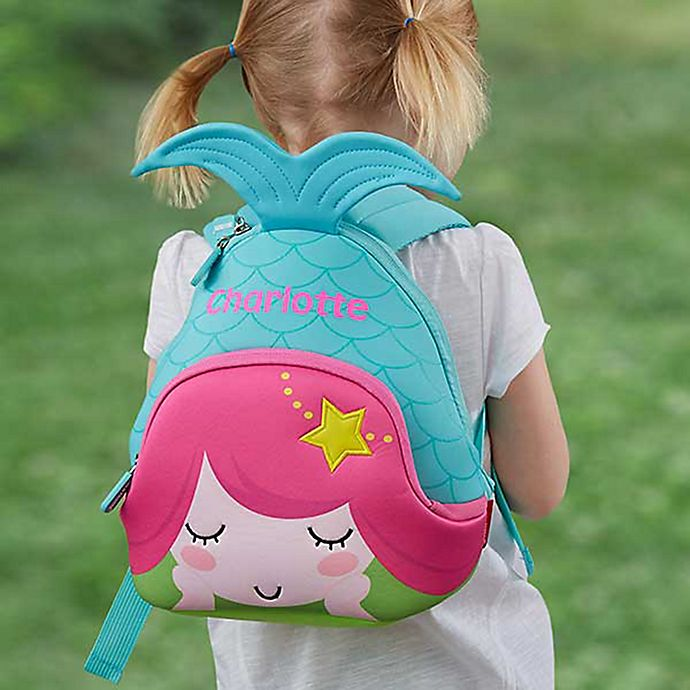 Alternate image 1 for Mermaid Neoprene Toddler Backpack