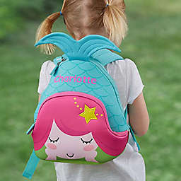 Mermaid Neoprene Toddler Backpack
