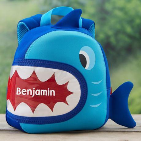 23e87c3febf Shark Neoprene Toddler Backpack
