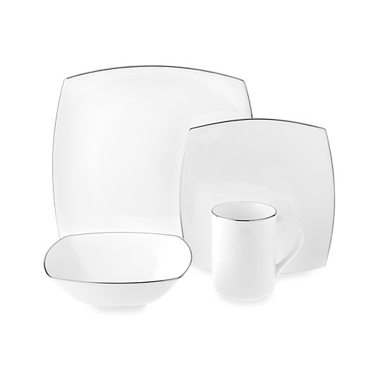 Alternate image 1 for Mikasa® Couture Platinum 4-Piece Place Setting