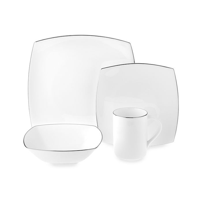 Alternate image 1 for Mikasa® Couture Platinum Dinnerware Collection