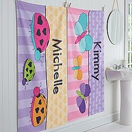 Just for Her Personalized Bath Towel