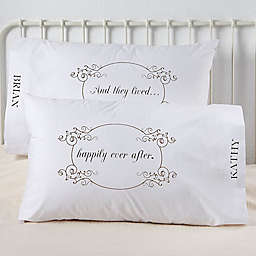 Happily Ever After Pillowcases (Set of 2)