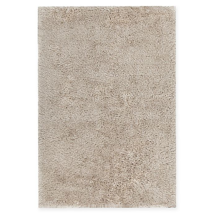 Alternate image 1 for Chandra Rugs Isla Hand-Knotted 7'9 x 10'6 Area Rug in White/Blue