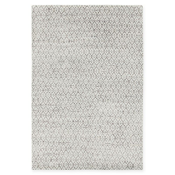 Alternate image 1 for Chandra Rugs Isla Hand-Knotted 7'9 x 10'6 Area Rug in Grey/White