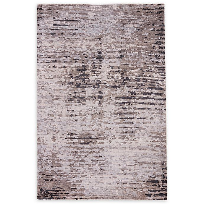 Alternate image 1 for Jaipur Living Imperial Hand Knotted Rug in Grey/Black