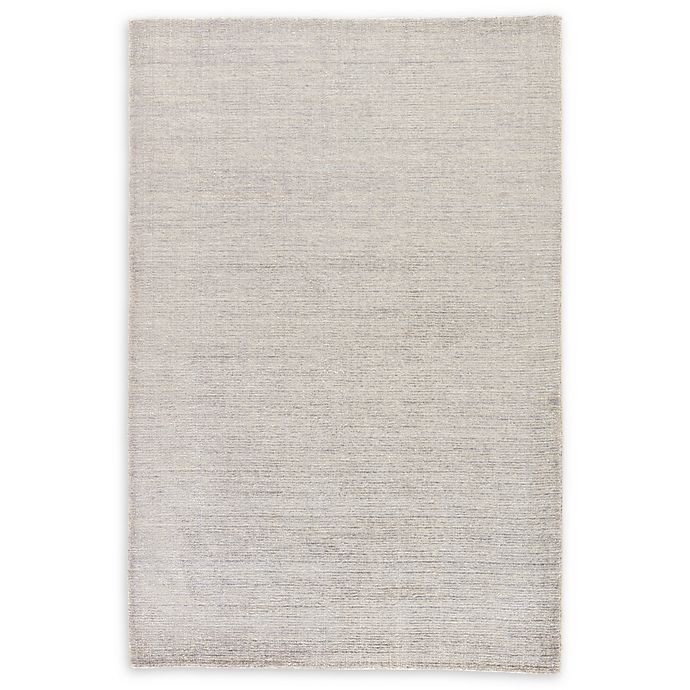 Alternate image 1 for Jaipur Landry Hand-Knotted 2' x 3' Accent Rug in Light Grey