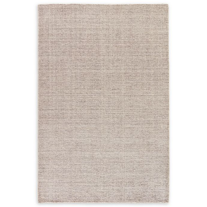 Alternate image 1 for Jaipur Landry Hand-Knotted 8' x 11' Area Rug in Silver