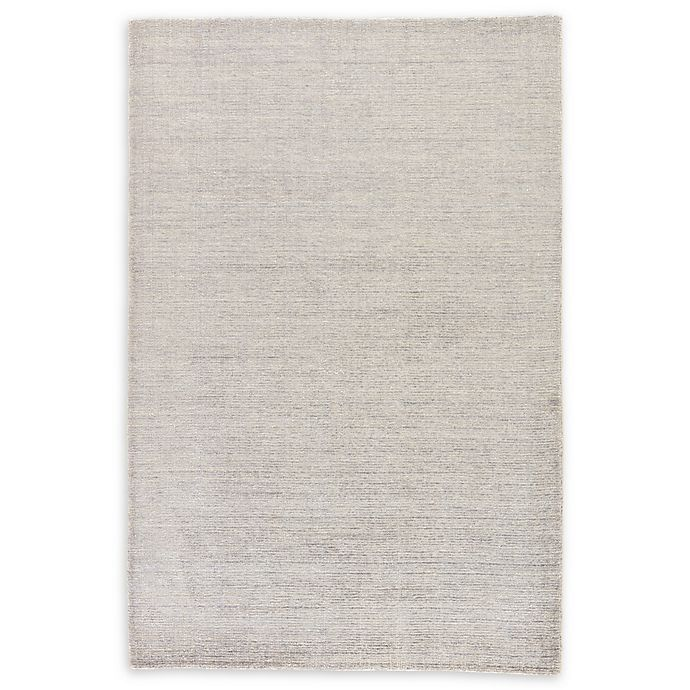 Alternate image 1 for Jaipur Landry Hand-Knotted 8' x 11' Area Rug in Light Grey