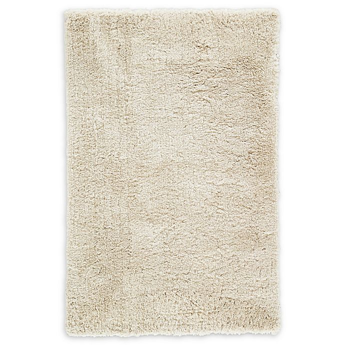 Alternate image 1 for Jaipur Manatee Shag 2' x 3' Accent Rug in Cream