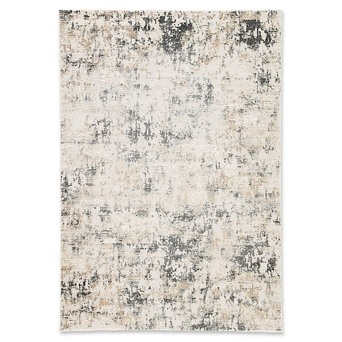 Alternate image 1 for Jaipur Arvo Abstract 5' x 7'6 Area Rug in White