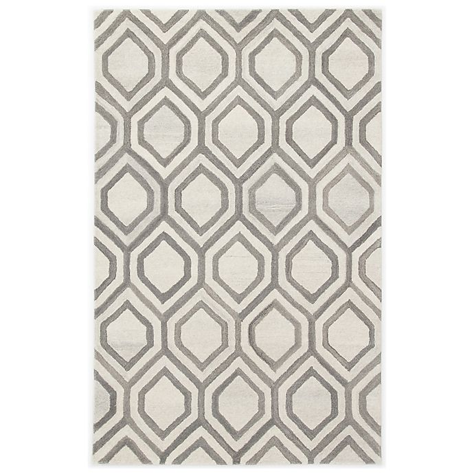 Alternate image 1 for Jaipur Hassan 5' x 8' Hand Tufted Area Rug in White/Grey