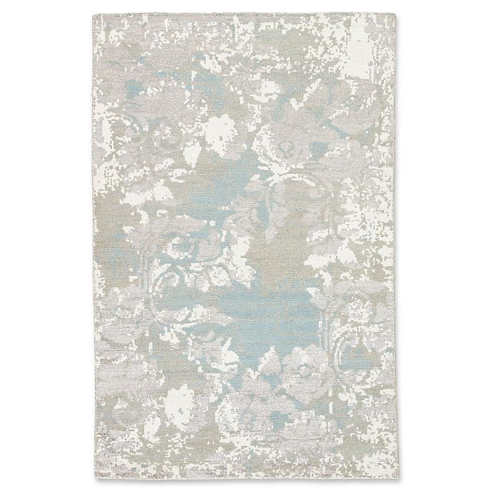 Alternate image 1 for Jaipur Adina 8' x 11' Hand Knotted Area Rug in Grey/White