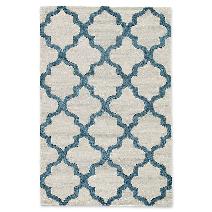 Alternate image 1 for Jaipur Miami 5' x 8' Hand Tufted Area Rug in Silver/Blue