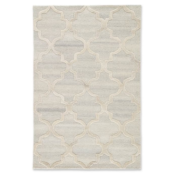 Alternate image 1 for Jaipur Miami 5' x 8' Hand Tufted Area Rug in Grey/Cream