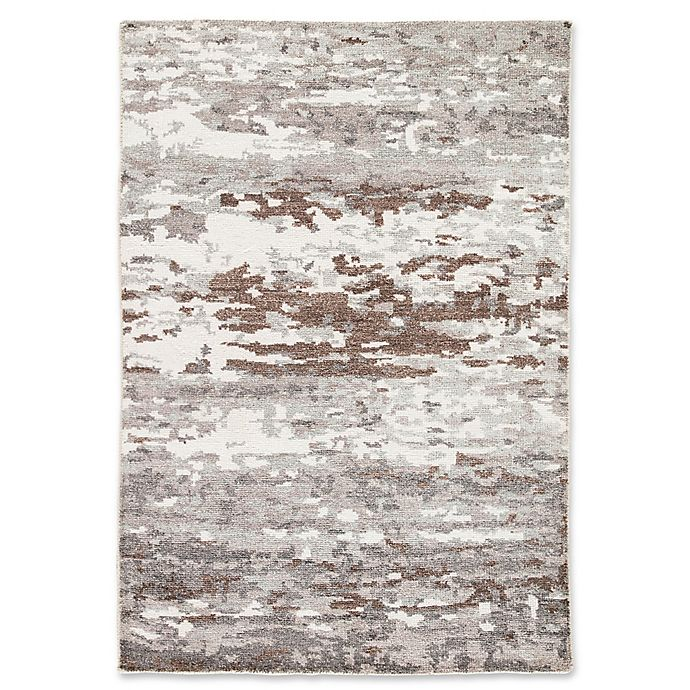 Alternate image 1 for Jaipur Krona 5' x 8' Hand Knotted Area Rug in Grey/White