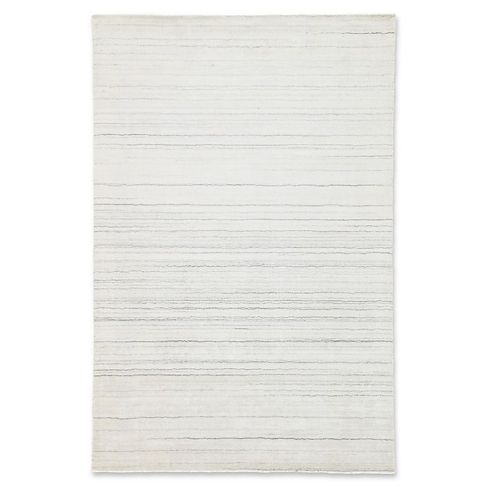 Alternate image 1 for Jaipur Oplyse 2' x 3' Accent Rug in White/Grey