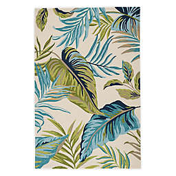 Jaipur Catalina Fraise Indoor/Outdoor Rug in Blue/Green