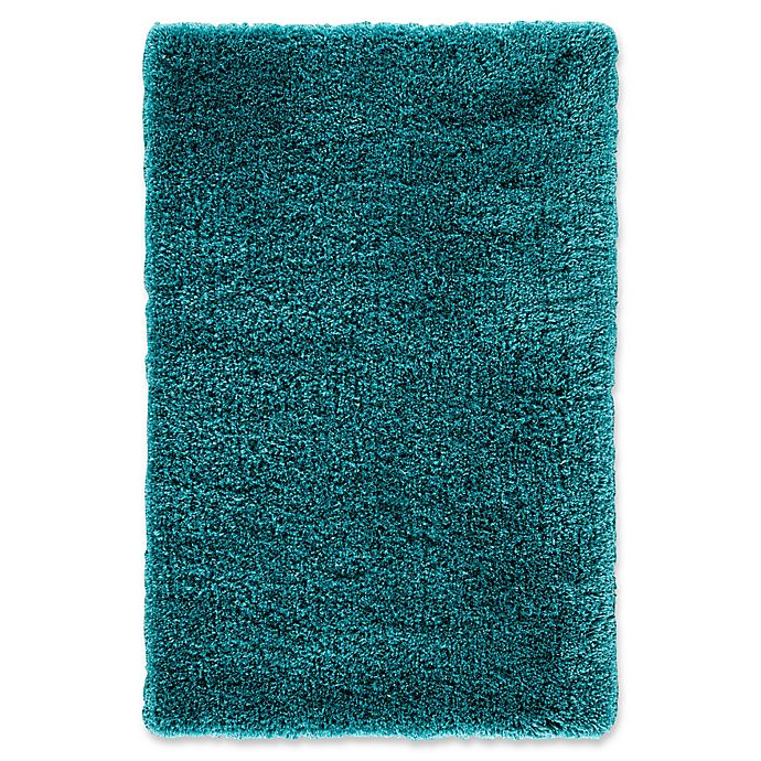 Alternate image 1 for Jaipur Seagrove 2' x 3' Shag Accent Rug in Teal