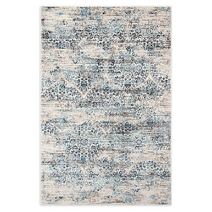 Alternate image 1 for Momeni Juliet Floral 3'3 x 5' Area Rug in Blue