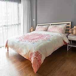 Designs Direct Mandala Twin Duvet Cover in Pink