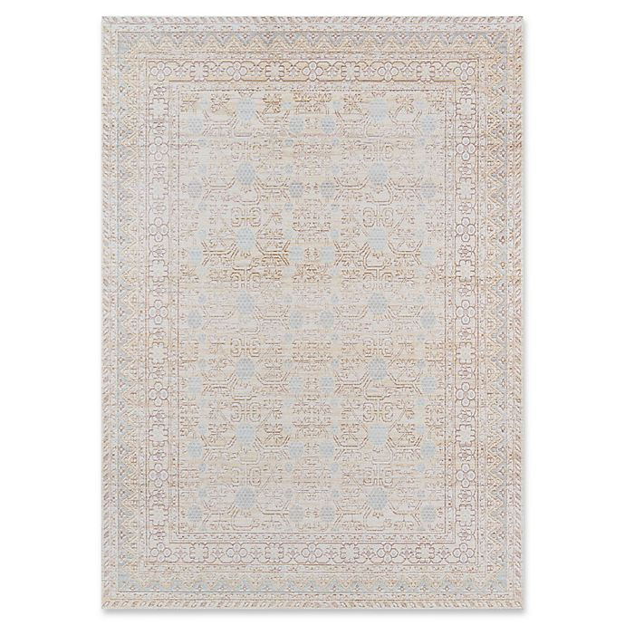 Alternate image 1 for Momeni Isabella Floral 2' x 3' Accent Rug in Blue