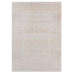 Momeni Isabella Floral 2' x 3' Accent Rug in Blue