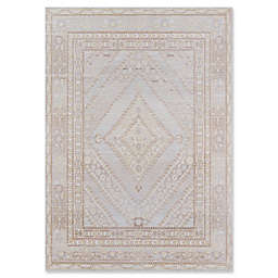 Momeni Isabella Medallion 2' x 3' Accent Rug in Grey