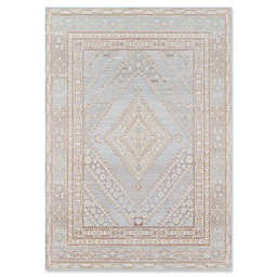 Momeni Isabella Medallion 2' x 3' Accent Rug in Blue