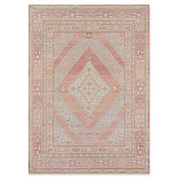 Momeni Isabella Medallion 7'10 x 10'6 Area Rug in Pink