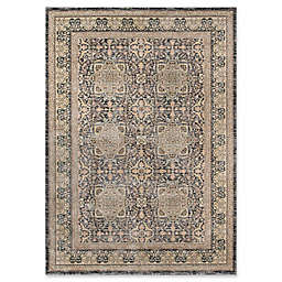 Momeni Caspian Floral Abstract Rug in Grey