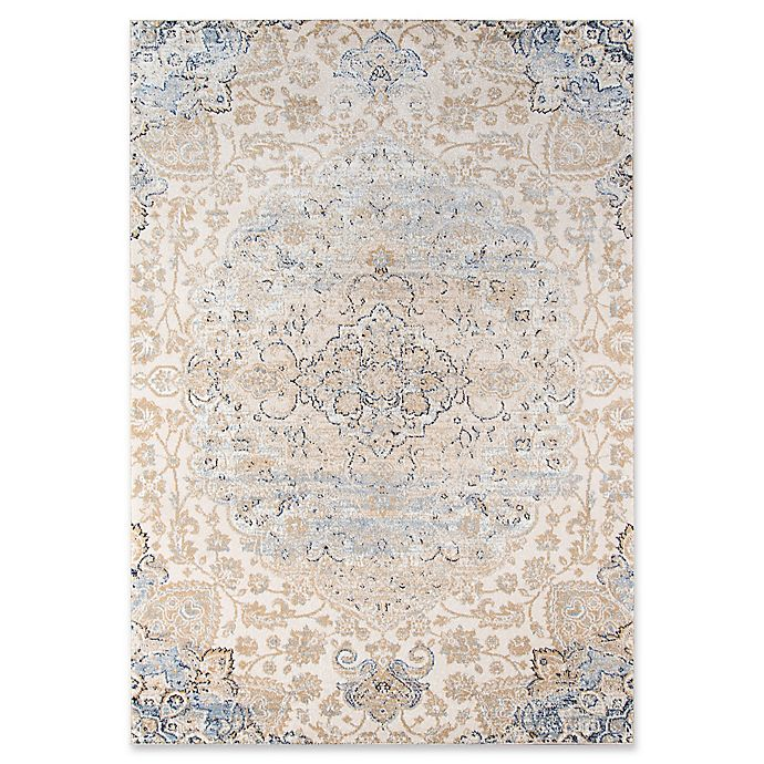Alternate image 1 for Momeni Amelia Floral 2' x 3' Accent Rug in Beige