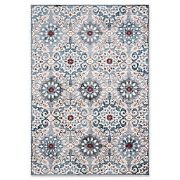 Momeni Brighton Loomed 2' x 3' Accent Rug in Blue