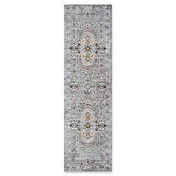 Momeni Brighton Loomed 2'3 x 8' Accent Rug in Light Blue