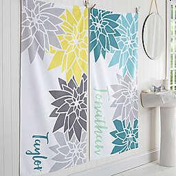 Mod Floral Bath Towel