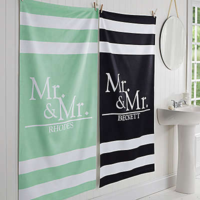 Wedded Pair Bath Towel